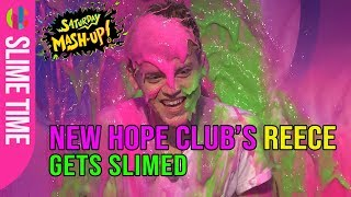 New Hope Club's Reece gets slimed!