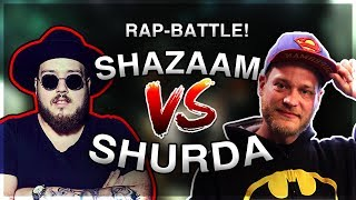SHURDA VS SHAZAAM *RAP BATTLE*