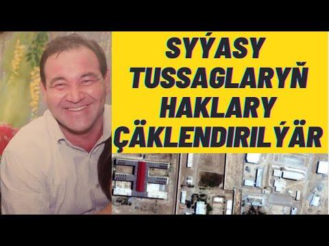 #TURKMENISTAN Syýasy tussaglaryň haklary çäklendirilýär