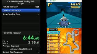 Cartoon Network Racing (DS) Popel in 16:39