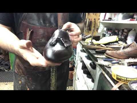 Alden Shell Cordovan Restoration
