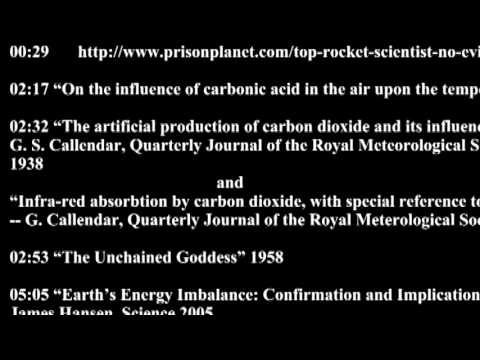 """27a -- Sources for my last video """"Evidence for Climate Change WITHOUT computer models...."""""""