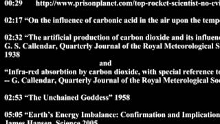 "27a -- Sources for my last video ""Evidence for Climate Change WITHOUT computer models...."""
