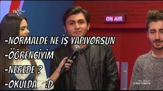 O Ses Türkye - Yarışmacı'nın Arkadaşları ile Acun'un Komik Diyaloğu!
