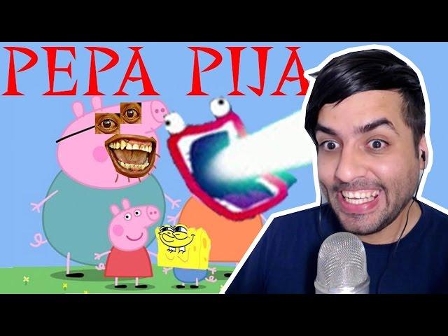 YTPH Pepa Pija juega a las tenderas Video Reaccion EHLIAX