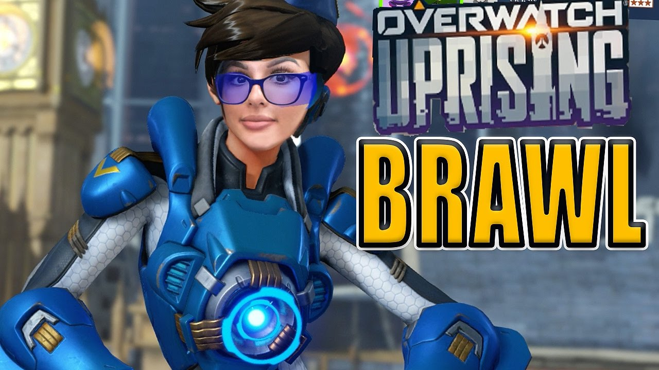 Overwatch Uprising Brawl Youtube