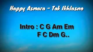 Download Lagu Kunci Gitar dan Lirik (Chord Mudah) Tak Ikhlasno - Happy Asmara mp3