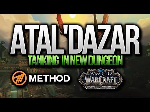 BFA ALPHA: TANKING NEW DUNGEON! ATAL'DAZAR - Sco Method