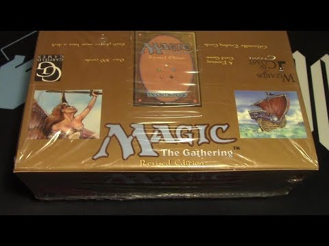 MTG Revised Booster whole box opening! Time to Rippy Rippy!!!