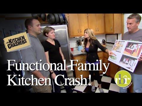 HGTV Kitchen Crashers - Functional Family Kitchen