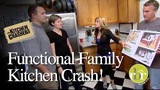 HGTV Kitchen Crashers - Functional Family Kitchen thumbnail