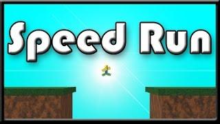 Speed run, HAH more like death run (Roblox speedrun)