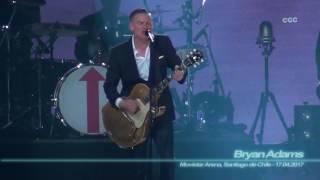 Bryan Adams - Summer of 69 ( Movistar Arena, Santiago de Chile - 17.04.2017 )