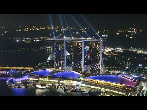 1 Altitude rooftop bar in Singapore - Awesome view from the 63rd floor