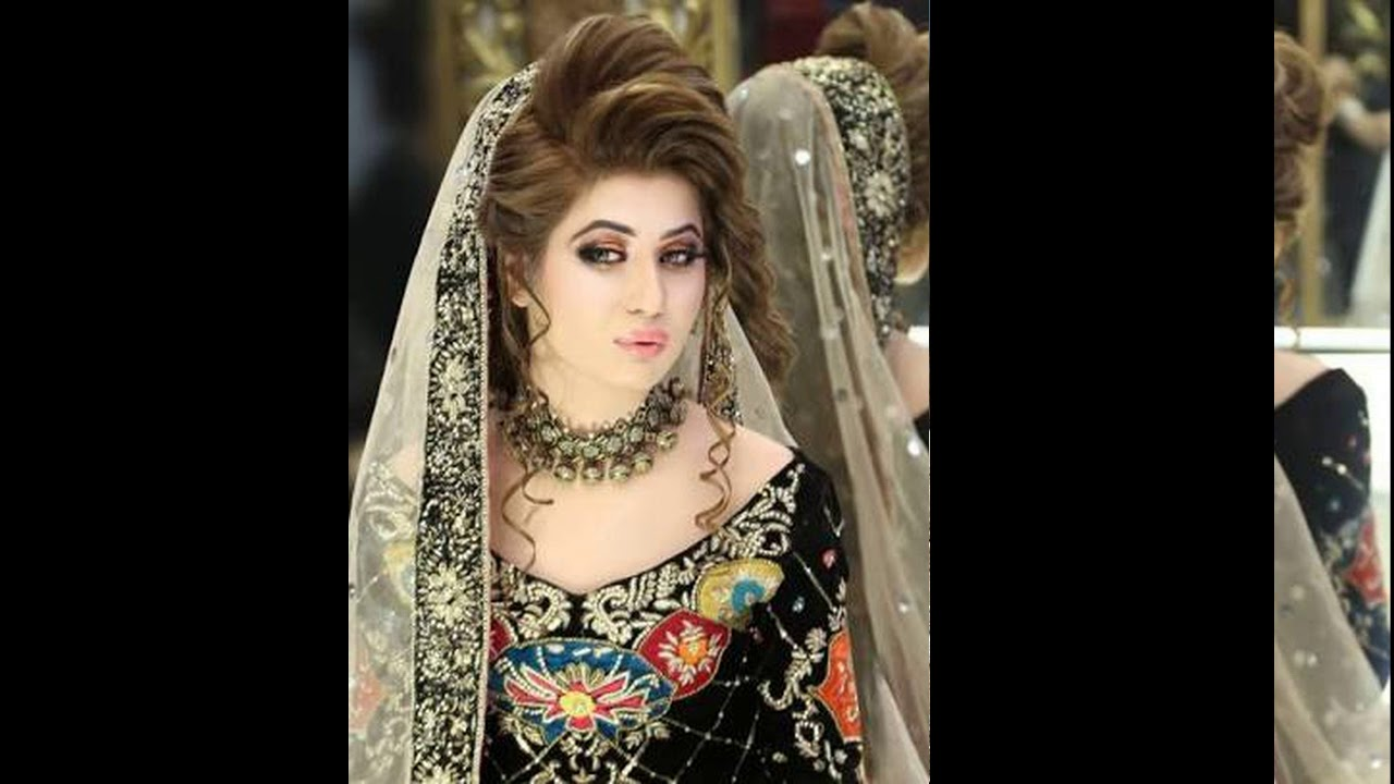Pakistani Bridal Makeup And Hairstyle Designs Youtube