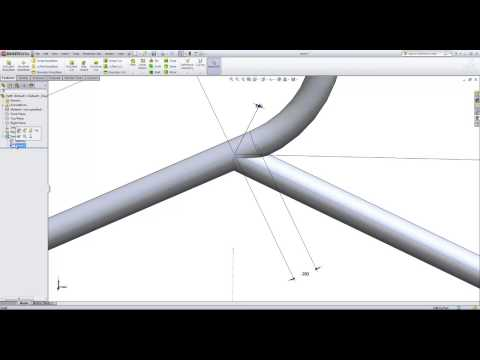 Tutorial SolidWorks Part Modeling Swept Features