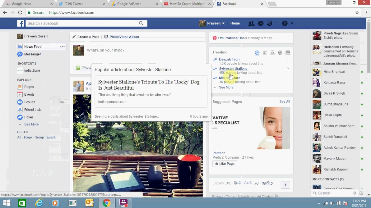 Steps To Embed A Youtube Video On Facebook Post Youtube