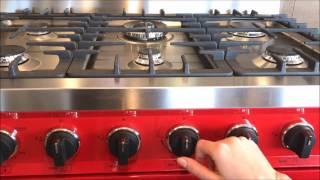 Smeg All Gas Ranges Instructions / Tutorial C30GG, TRU36GG, C36GG, C24GGXU