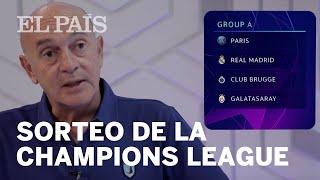 Análisis del SORTEO DE LA CHAMPIONS LEAGUE: ¿Qué equipo español tiene el grupo más difícil?