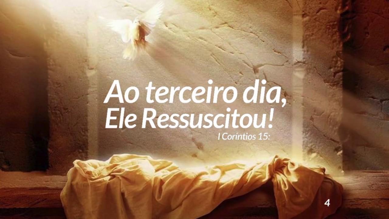 Jorge Pinheiro- Ao terceiro dia, Ele Ressuscitou! - YouTube