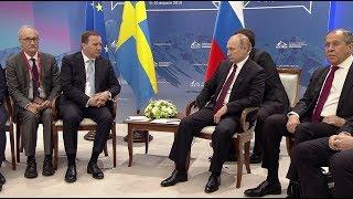 Путин назвал «бандитом» переводчика, исказившего его слова