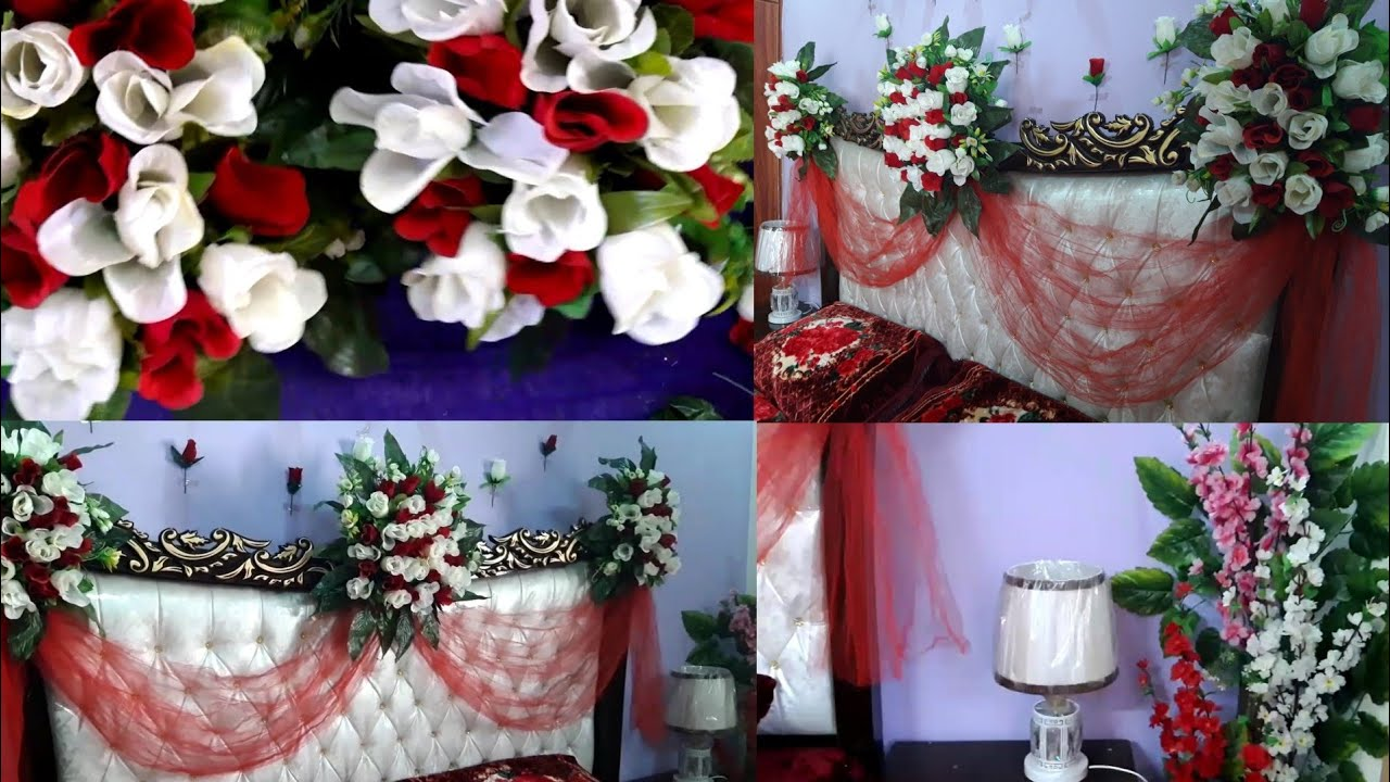 Wedding Room Decoration Wedding Room Simple Decoration Youtube