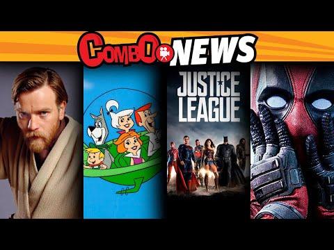 Obi wan, James Bond, Godzilla,Deadpool2,Supersónicos,LigaDeLaJusticia