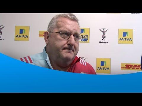 John Kingston post match interview - Harlequins 36-14 Worcester Warriors