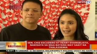 BT: Sen. Chiz Escudero at Heart Evangelista, nakisaya sa mga batang may sakit na thalassemia