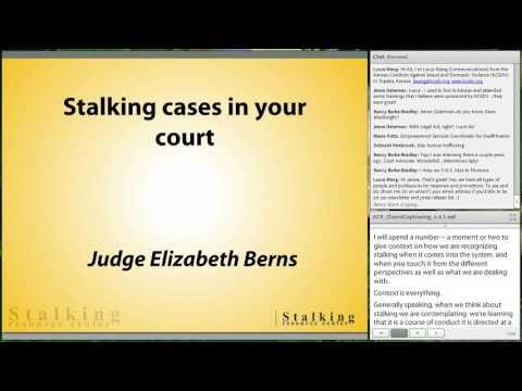 Stalking: The Hidden Crime - Part I