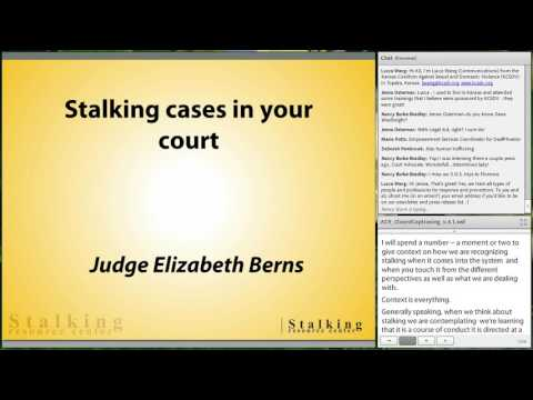 Stalking: The Hidden Crime