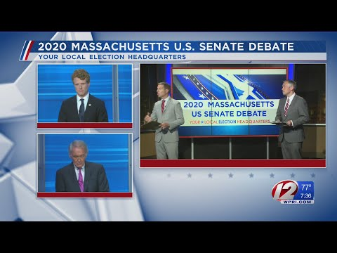 Massachusetts U.S. Senate Debate between Sen. Ed Markey and Congressman Joe Kennedy