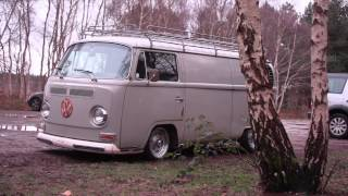 Grazy's 69 vw early Bay - One van and his dog