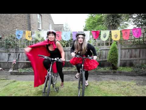 The Warm Hearted Bikers Karaoke - Queen - Bicycle Race