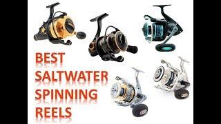 Best Saltwater Spinning Reels (2018)