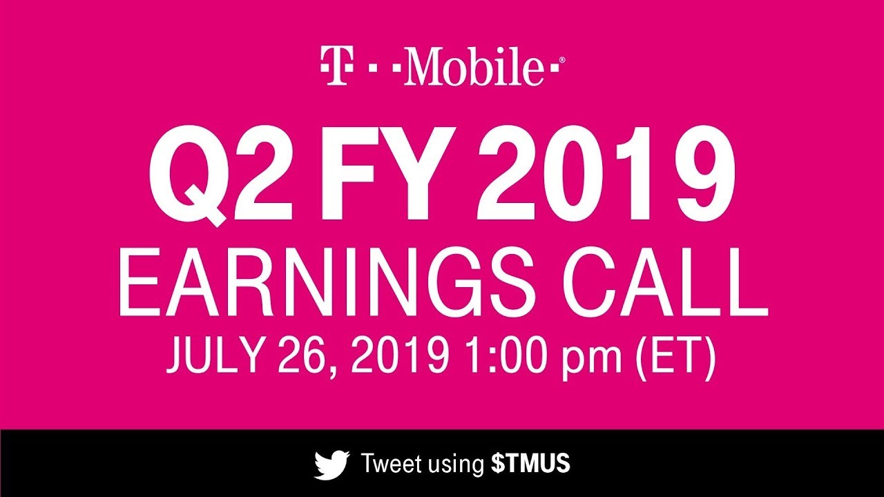 T-Mobile Q2 2019 Earnings Call: Behind-the-Scenes Livestream