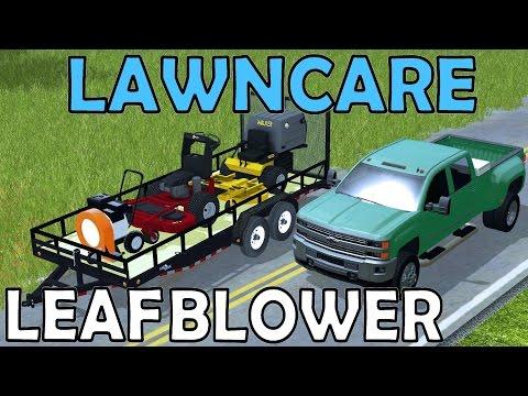Farming Simulator 17 - Lawn Care - Leaf Blower - Exmark - Walker - Duramax