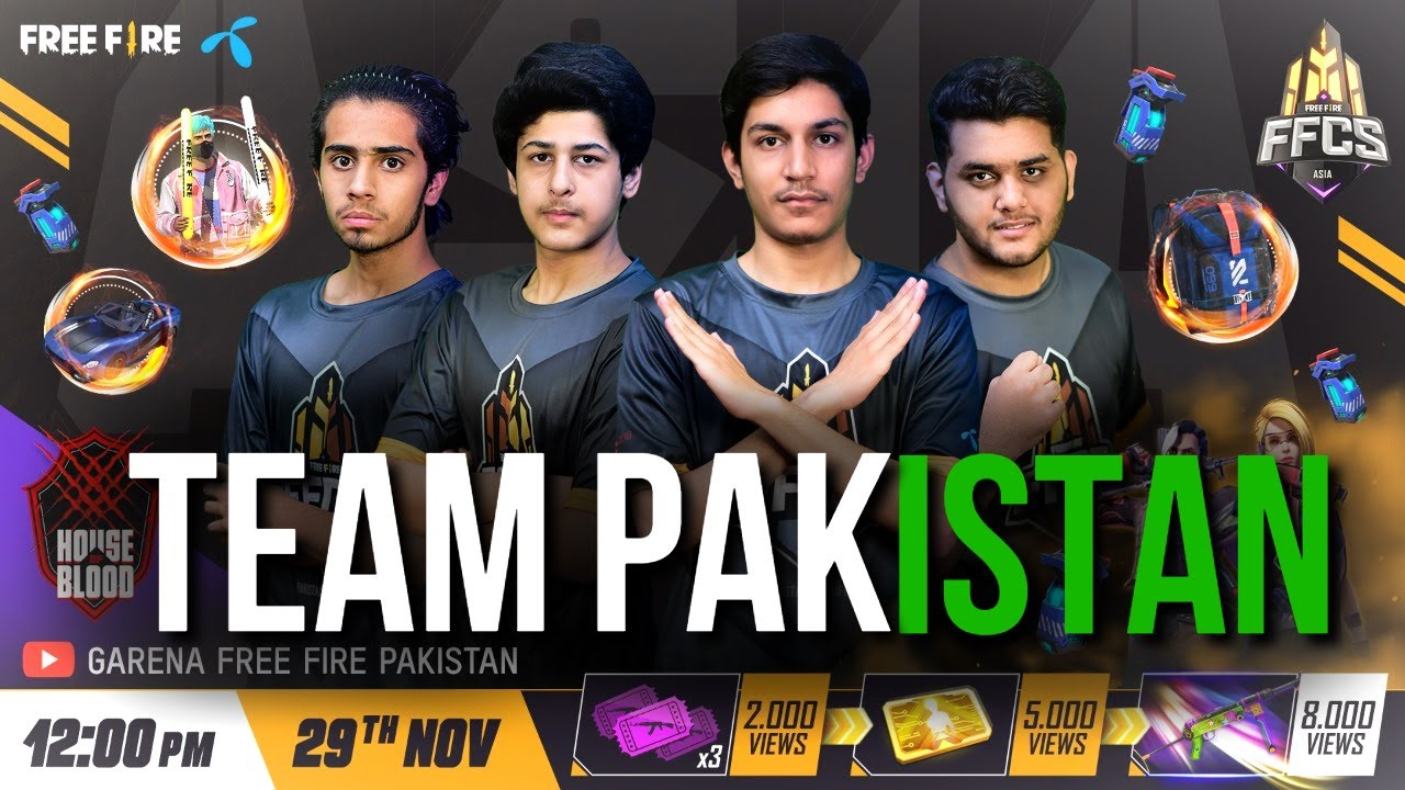 GO TEAM PAKISTAN! | FFCS ASIA FINAL 2020 | GARENA FREE FIRE PAKISTAN