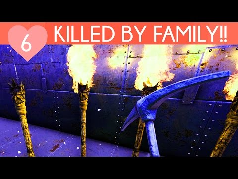 KILLED BY FAMILY | My Private Ark Server | Ark Survival Evolved Gameplay | Episode 6
