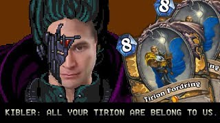 (Hearthstone) All Your Tirion Are Belong To Us