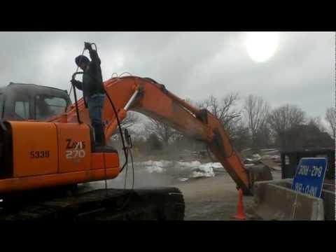 Heavy Equipment Pressure Washing By KC Wash Pros, LLC. Kansas City, MO