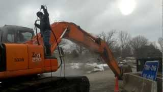 Heavy Equipment Pressure Washing by KC Wash Pros, LLC. Kansas City, MO