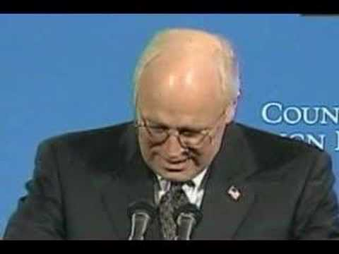Cheney on CFR, Council on Foreign Relations