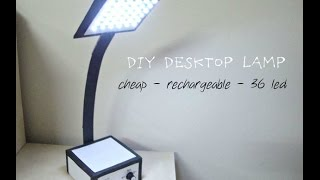 How To Make a Powerful Rechargeable LED Lamp At Home DIY Homemade LED