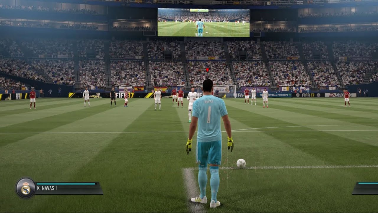 fifa 17 gameplay pc hd 1080p60fps youtube. Black Bedroom Furniture Sets. Home Design Ideas