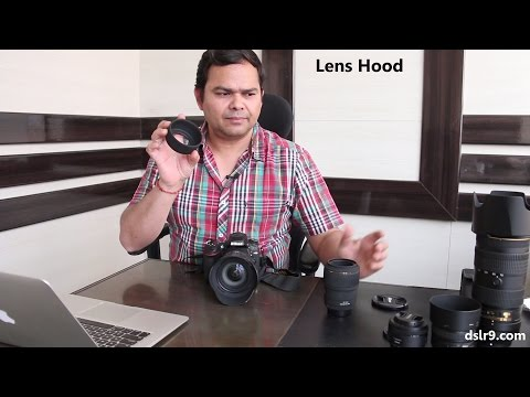 Lens Hood - Why, How and When to Use (Hindi)
