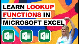 Learn LOOKUP Functions in Microsoft Excel (Deb's Top Tips and Tricks)