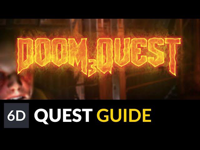 Doom 3 on Quest | Doom3Quest Instructions & Gameplay