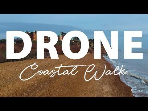 Coastal Walk - Filmed with my drone - DJI Spark.