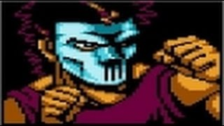 Teenage Mutant Ninja Turtles: Tournament Fighters - Tournament mode - Casey Jones - Nes Playthrough